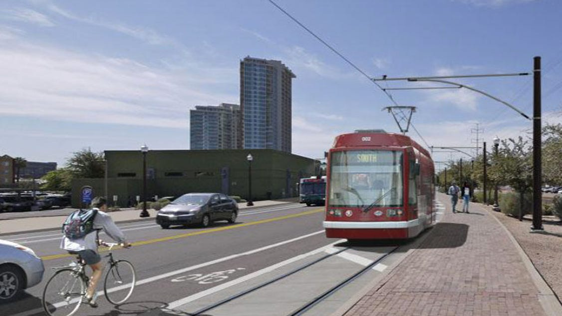 Tempe S Streetcar Gets A New Route