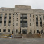 Winnebago County is looking to secure the Winnebago County Courthouse.