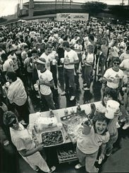 Tailgating for Brewers games goes way back in Milwaukee.
