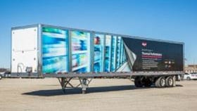 Structural Composites technology was used in this trailer
