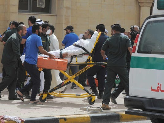 13 killed in suicide bombing at Kuwait mosque