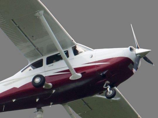 A USA Today Network file photo of a Cessna 182.