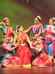 """""""Duality"""" is a performance that combines classical Indian dance with modern themes."""