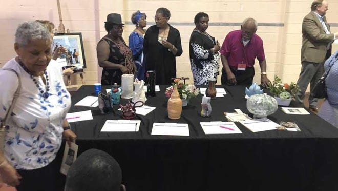 One of the 2019 Juneteenth events was this gathering at the old Firemen's Museum, sponsored by the African American Heritage & Cultural Center.