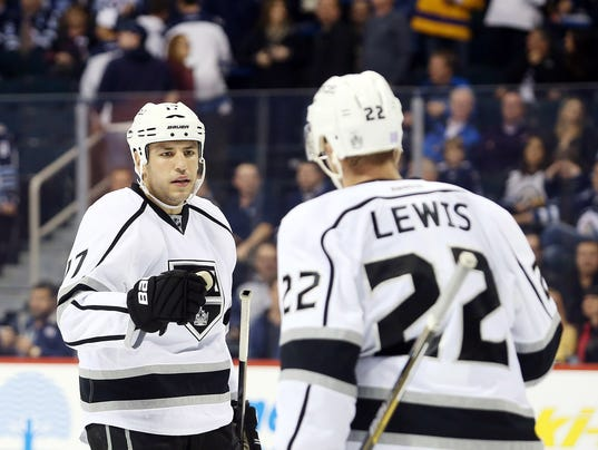 USP NHL: LOS ANGELES KINGS AT WINNIPEG JETS S HKN CAN MA