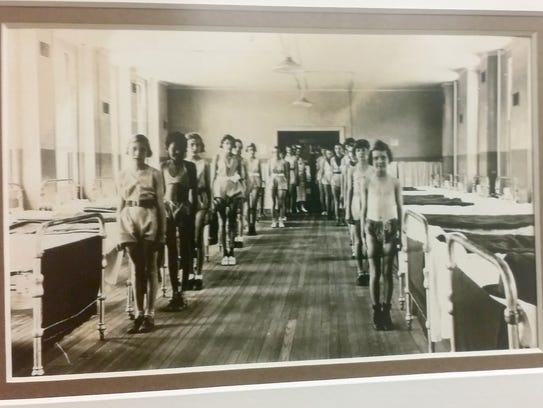 In this undated photo, patients at the childrens' hospital
