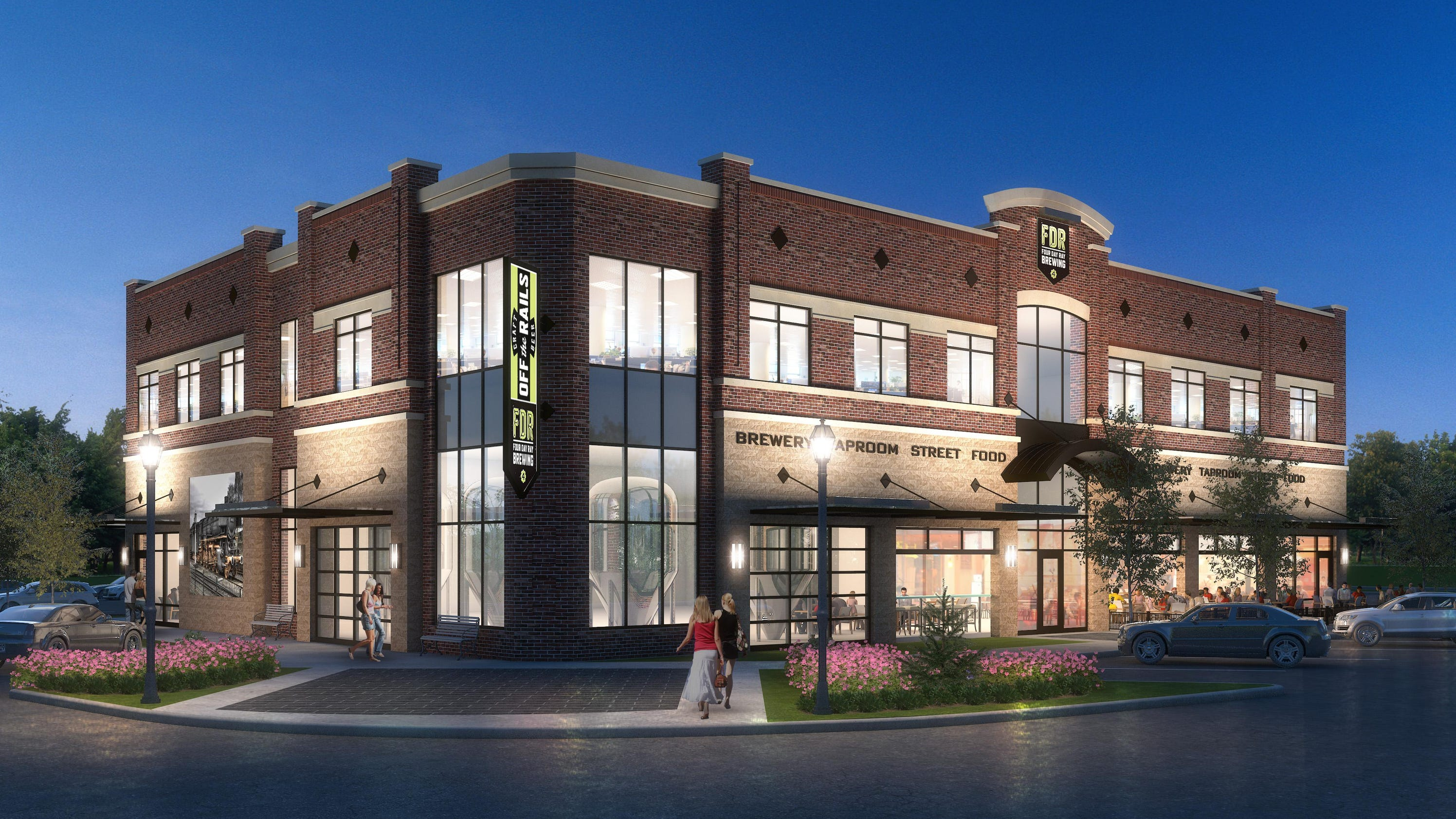 Four Day Ray Brewing Eyes Downtown Fishers