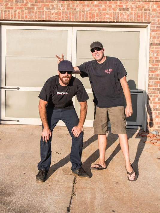 Roadkill hosts Mike Finnegan and Dave Freiburger