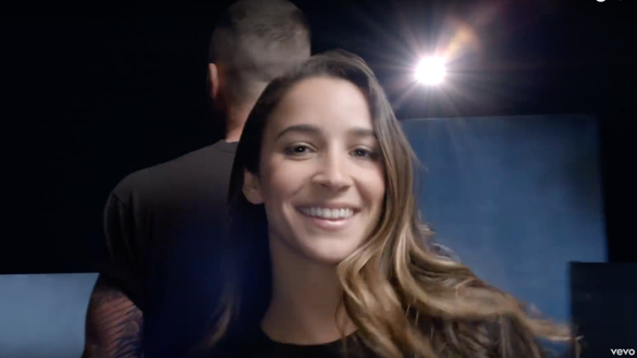 Aly Raisman, Danica Patrick, Alex Morgan among athlete cameos in new Maroon 5 video