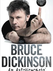 Dickinson will sign copies of his new autobiography,