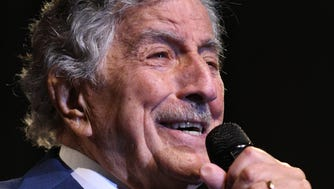 Singer Tony Bennett performs on Jan. 30, 2018 in New York City.