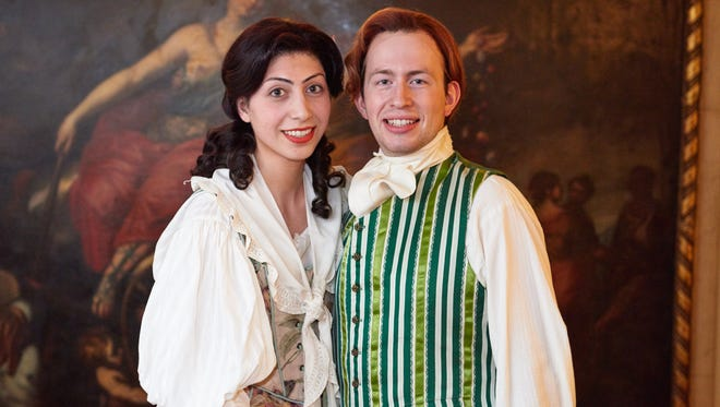 """Liliana Buickians and John Meyer star in """"The Marriage of Figaro."""""""