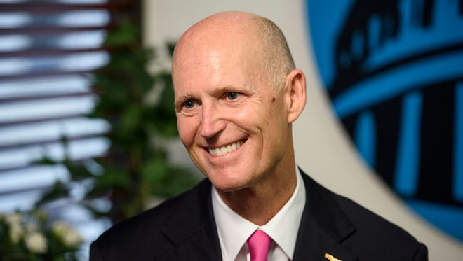 Republican Florida Gov. Rick Scott is expected to challenge Democratic Sen. Bill Nelson next year.