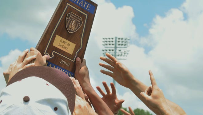 The  AHSAA baseball championships have been played in Montgomery since 2001.