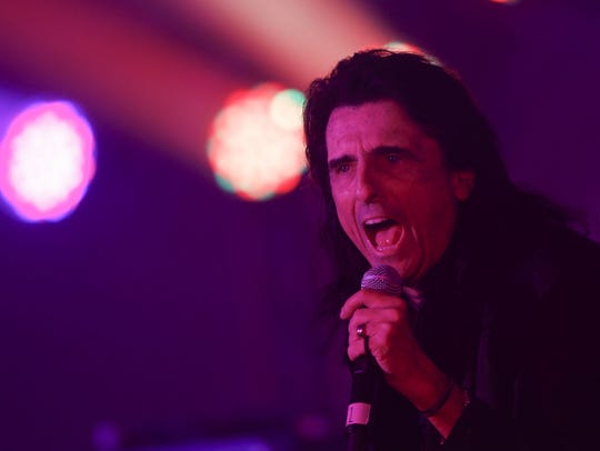 Alice Cooper performs during Alice Cooper's Rock &