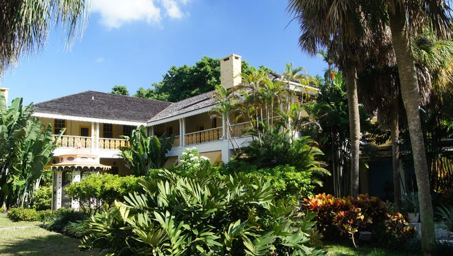 The historic Bonnet House Museum and Gardens sits on 35 acres of coastal wilderness sandwiched between miles of hotel-lined beaches and the Intracoastal Waterway in Fort Lauderdale.
