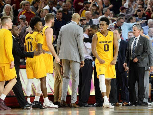 NCAA Basketball: Southern California at Arizona State