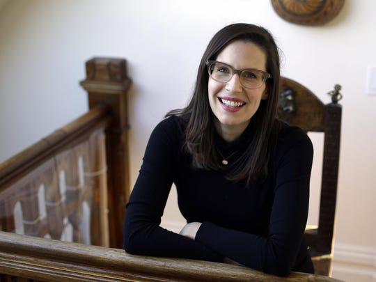 Lauren Gunderson, seen at her home in San Francisco.