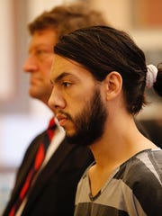 Nicholas Roesler at an arraignment Friday before Hamilton