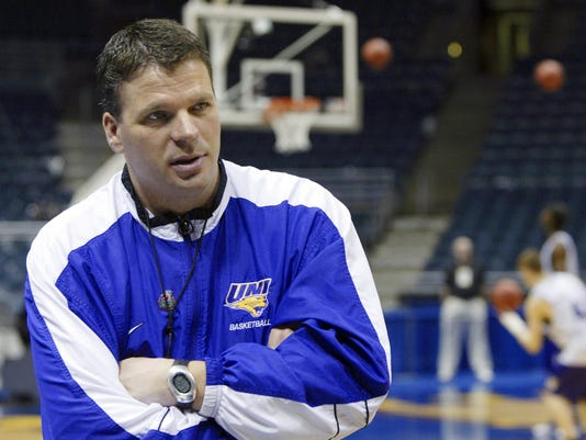 Northern Iowa head coach Greg McDermott