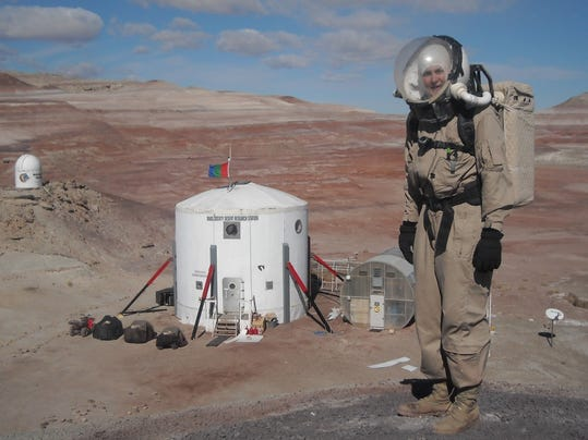 US Army officer competes for one-way ticket to Mars