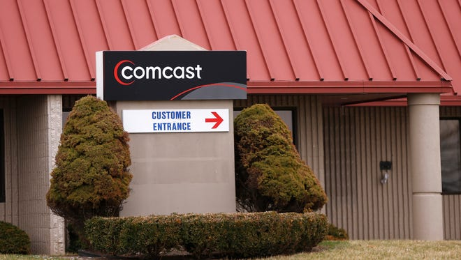 The Comcast Service Center at 325 S. Creasy Lane Thursday, March 8, 2018, in Lafayette.
