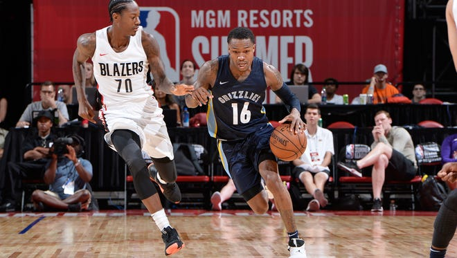 After averaging 12.0 point during his 10 NBA Summer League games with Memphis, FGCU's Brandon Goodwin is waiting to find out if he'll get a training camp invitation, two-way contract offer, etc.