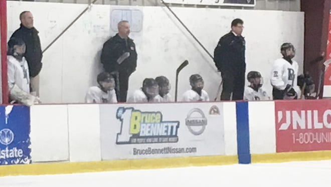 Illness left the Brewster/Yorktown bench a little thin during a 3-2 overtime win against RTH on Friday at BIA.