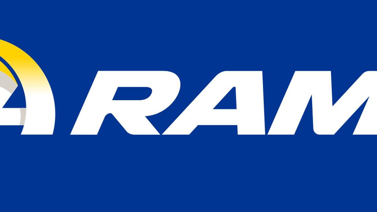 Blue And Yellow Again La Rams Unveil Logos Color Scheme