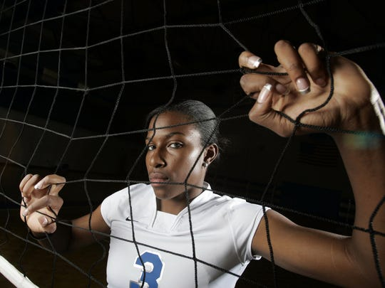 Former MTSU volleyball player Ashley Asberry is one of seven members being inducted into the 2019 Blue Raider Hall of Fame class.