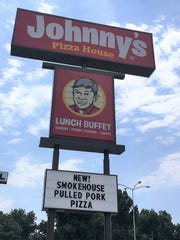 Johnny's Pizza on Barksdale Boulevard in Bossier City.