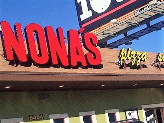 Nona's Pizza at 6404 N. Mesa St. in West El Paso is