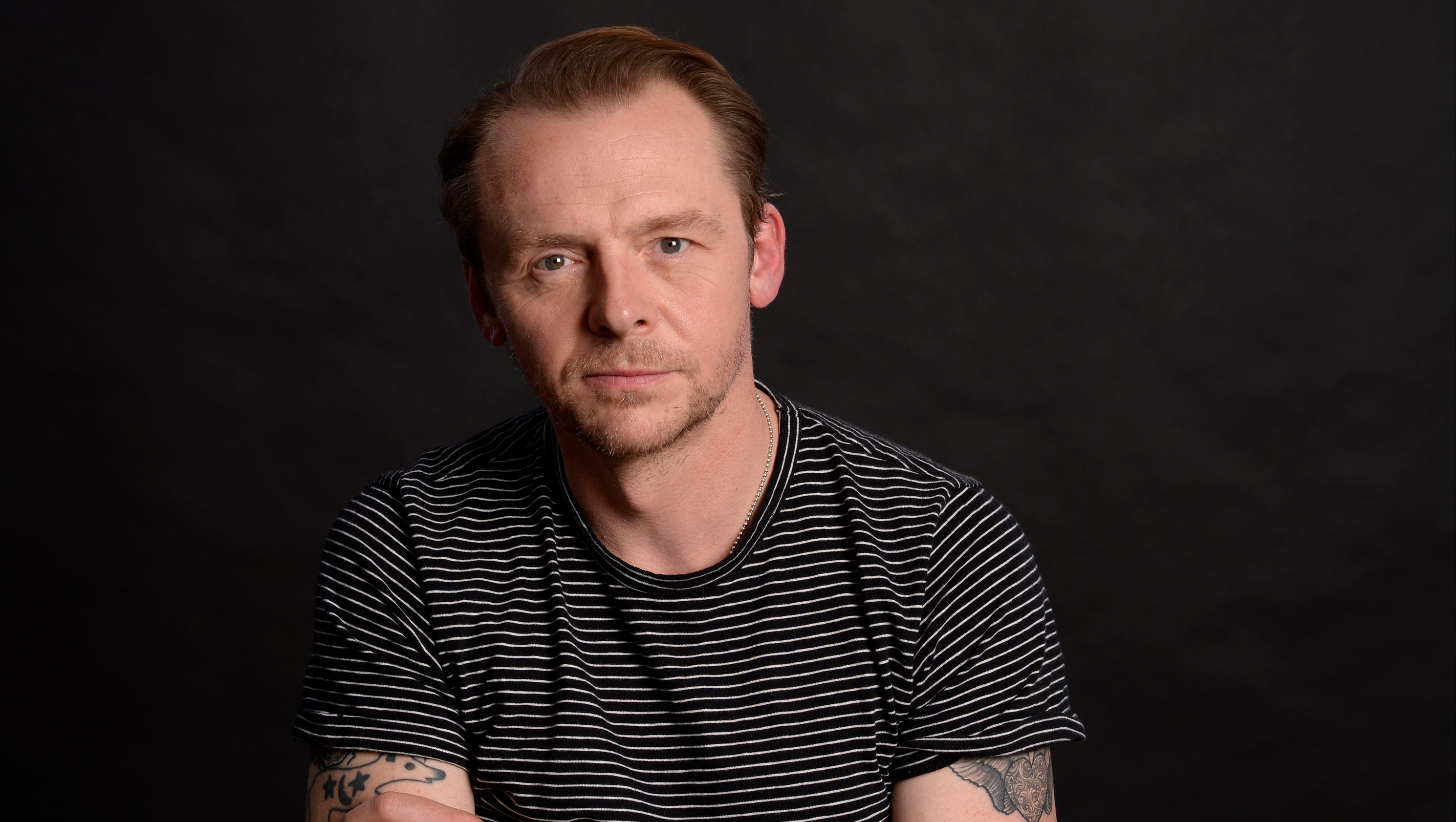Simon Pegg Notches Another Mission