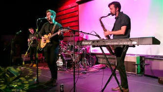 """Offbeat pop rock band Soul Low performed at the Radio Milwaukee Music Awards Thursday, and won best album for its latest, """"Nosebleeds."""""""