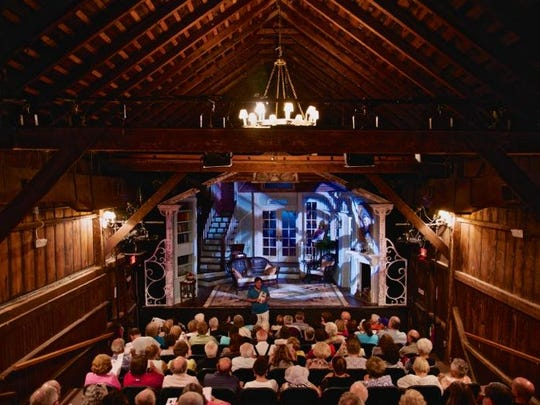 Penguin Rep, a former barn, is now a cozy incubator for theater in Rockland County marking its 40th season.