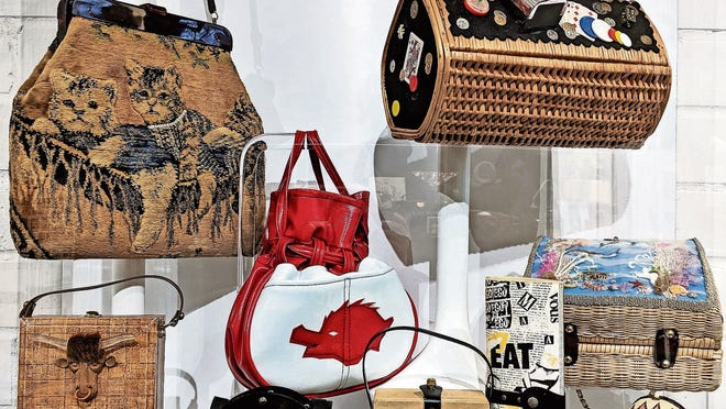 The ESSE is one of three purse museums in the world and exhibits examples of handbags from 10 decades.