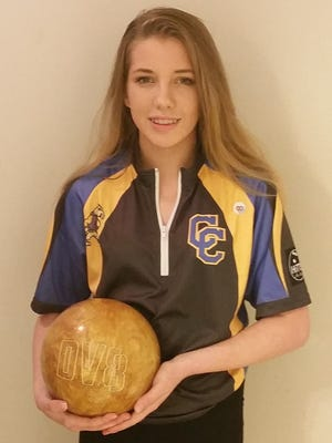 Campbell County eighth-grade bowler Kaylee Hitt is a perfectionist.