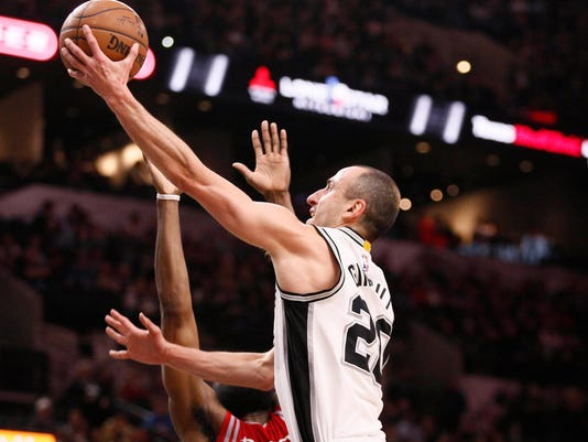 NBA: Houston Rockets at San Antonio Spurs