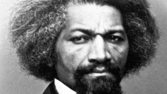 In 1838, Frederick Douglass posed as a free black seaman