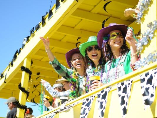 Caerus Mardi Gras Parade