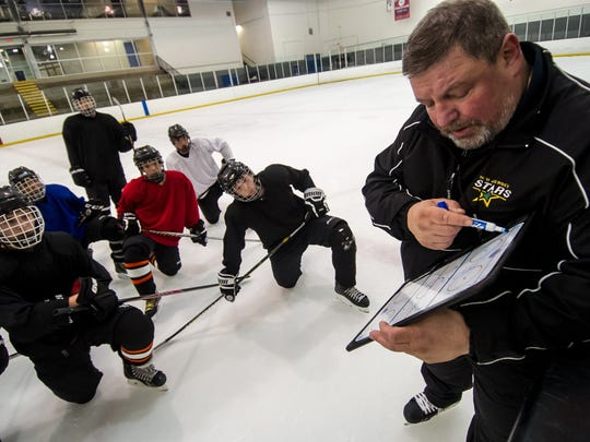 Hockey legend Sergei Starikov,  the new head ice hockey