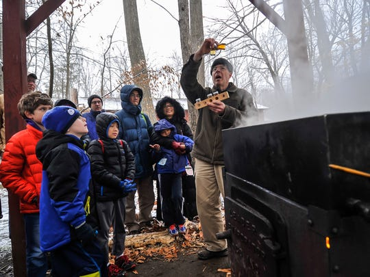 Bob Weingaertner,  a volunteer at Great Swamp Outdoor