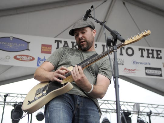 Jason Ploof performed at the 2014 Takin' It to the