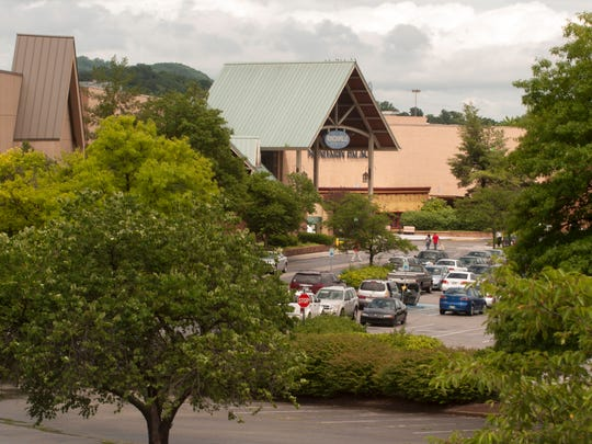 The Knoxville Center Mall, formerly known as East Towne, is shown in this 2013 file photo.