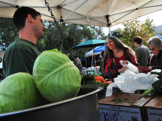 The farmer's market in Ojai is a must-attend event if your visit to the city includes a Sunday morning.