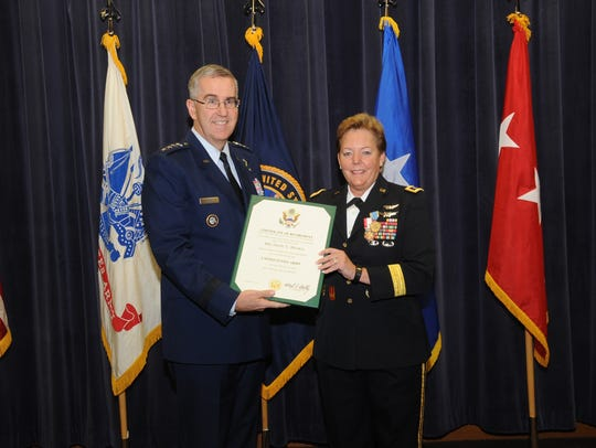 U.S. Air Force General John E. Hyten, commander of