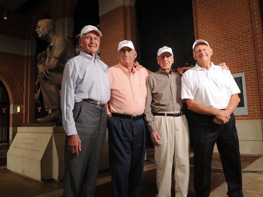 Jim Haslam, Gordon Polofsky, Pat Shires, Herkey Payne,