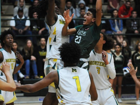 Alisal guard Josue Gil-Silva (23) rises up for a layup.