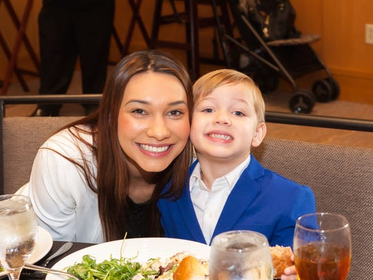 The first resident of Mama's House, Heather Partida, and her son Jayden