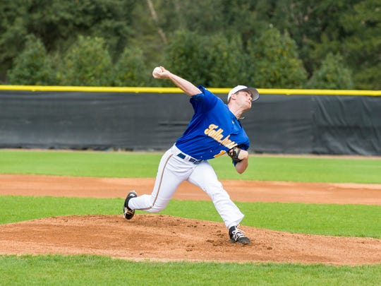 TCC's Brandon Reitz has thrown a team-high 27 innings and is 2-1 this season.